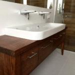 Szafka drewniana łazienkowa